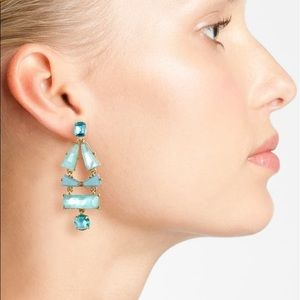 Kate Spade beach gem drop earrings